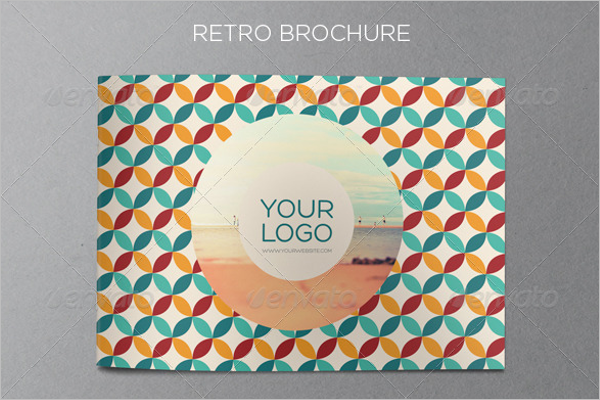 Clean Retro Brochure Template