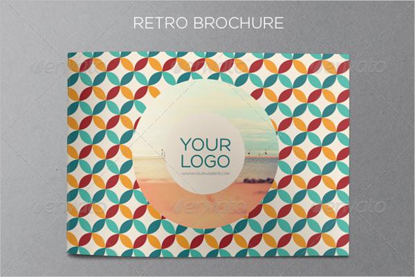 Clean Retro Brochure Template