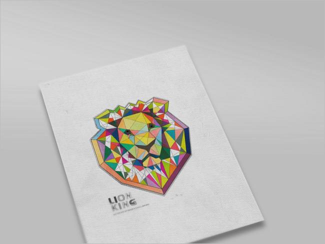 Clean Sketchbook Mockup Design