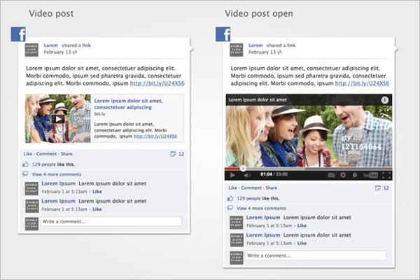 Clean Social Media Mockup Design