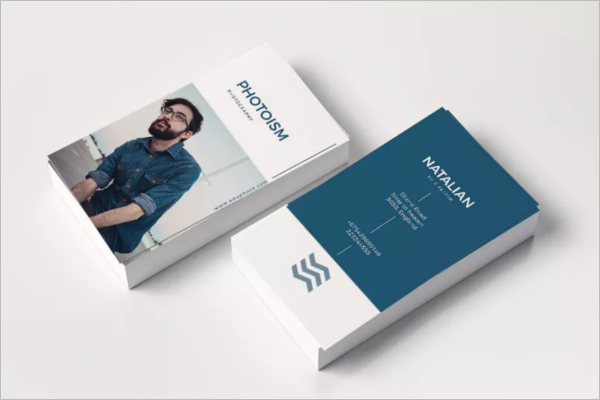 Clear Photography Business Card Design