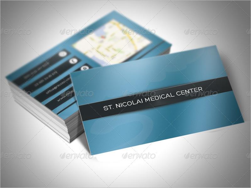 Clinic Business Card Design Template