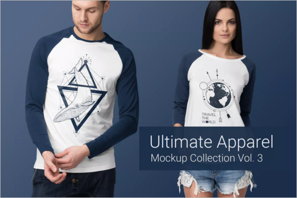 Clothing Mockup Trendy Design