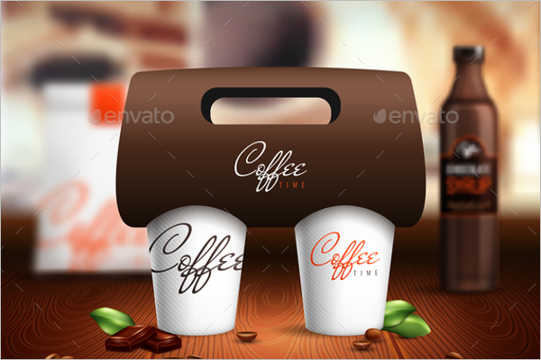 Coffee Cup Mockup Illustrator