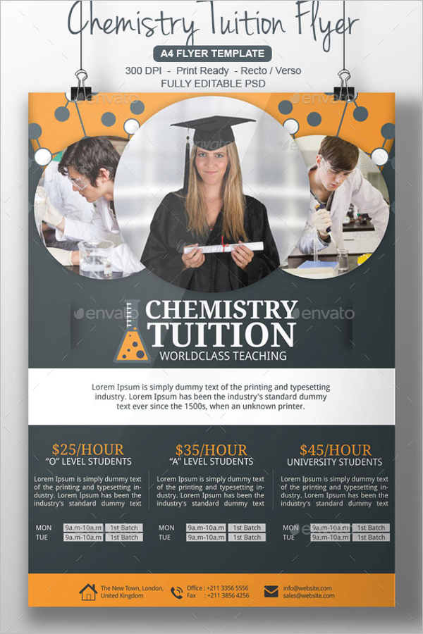 College Flyer Template Roho4senses
