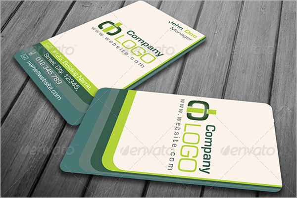 Colorful Business Card Vector Design