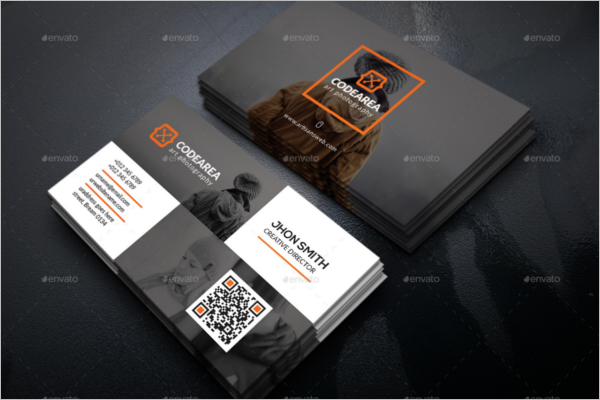 Commmercial Photography Business Card Design