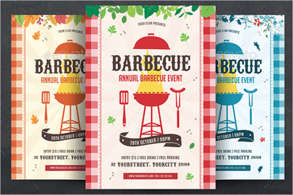 Company BBQ Flyer Template