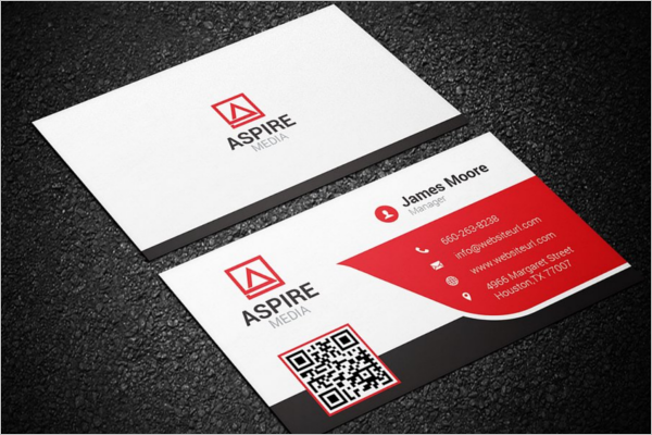 Company Business Card Template