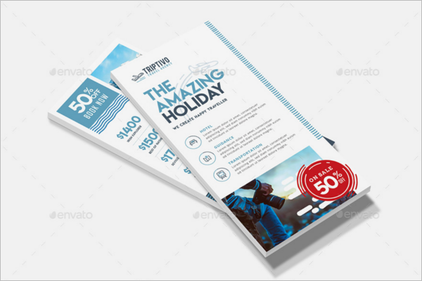 Company Rack Card Template