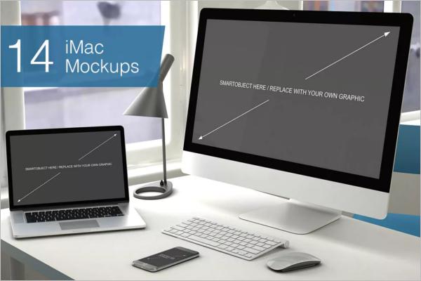Computer Device Mockup Design