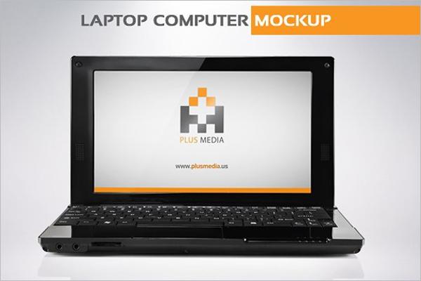 Computer Mockup Elegant Template