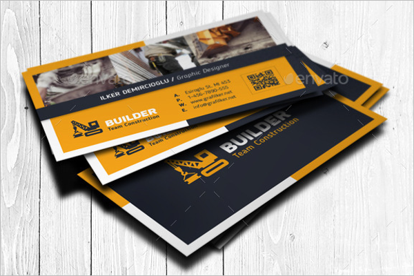 Construction business card template construction business card template wajeb Image collections