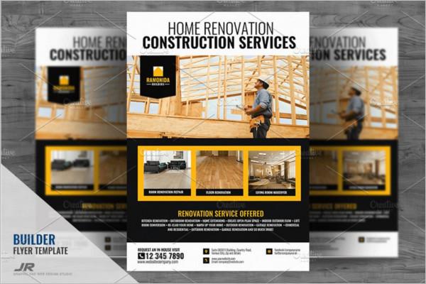 Construction Company Flyer Design
