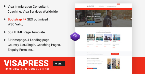 Consulting Bootstrap Website Template
