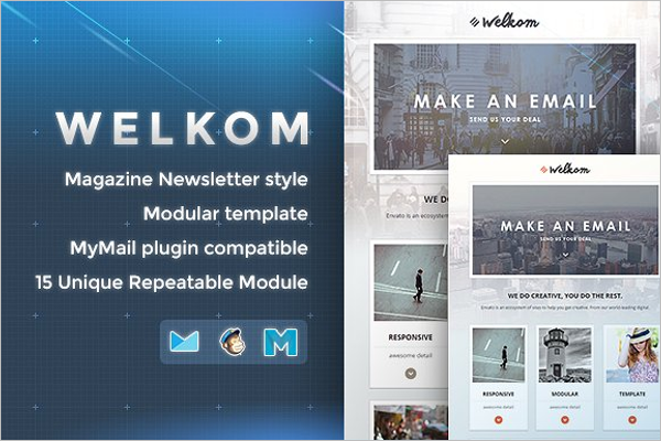 Cool Email Design Template