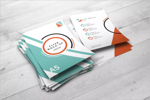 Corporate A5 Flyer Template