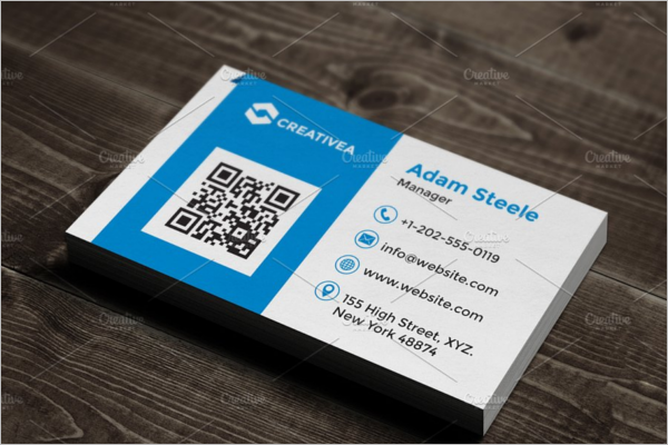 Corporate Business Card Design Idea