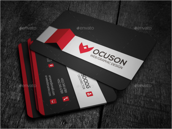 Corporate Business Card Elegant Design