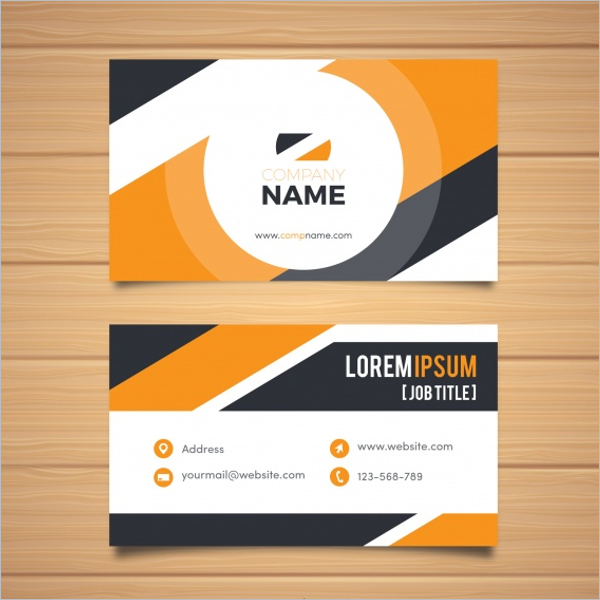 Corporate Business Card Free Design