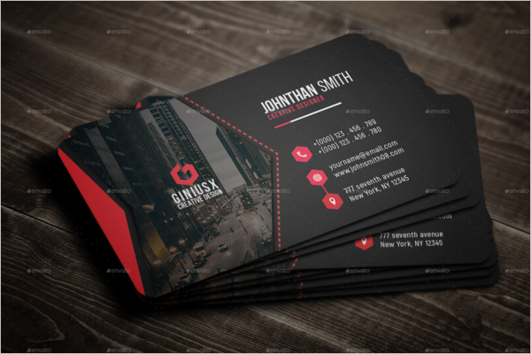 Corporate Business Card Indesign Template