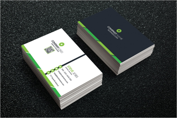 Corporate Business Card Printing Design