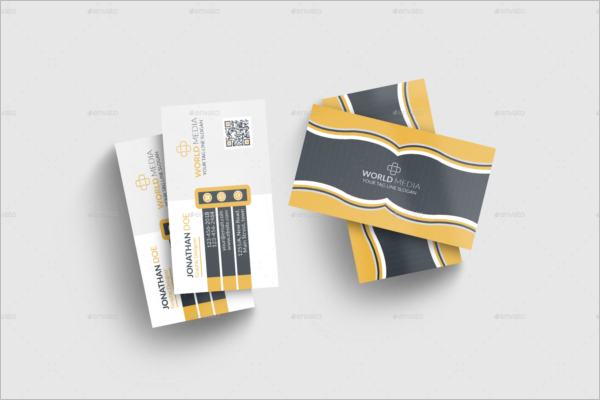 Corporate Business Card Template Customization