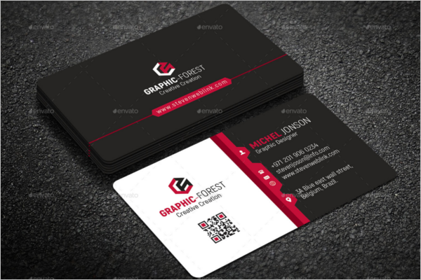 Corporate Company Business Card Template
