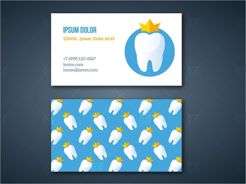 31 dental business card templates free psd vector download corporate dental business card template cheaphphosting Choice Image