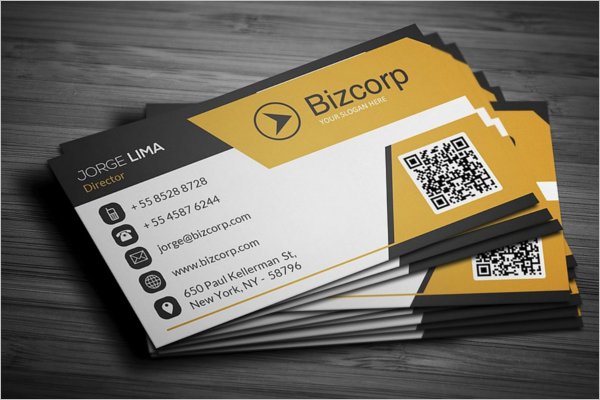 Corporate Line Business Card Template
