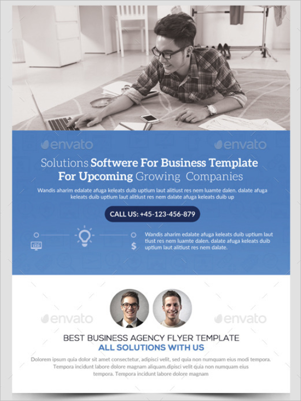 Corporate SEO Flyer Template