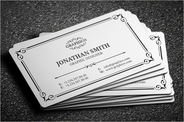 Corporate Vintage Business Card Template