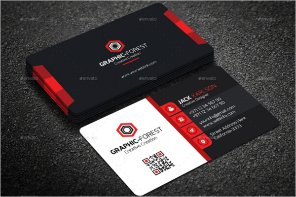 Corporate Visiting Card Design