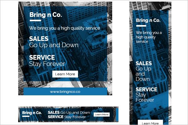 Corporate Web Banner Design