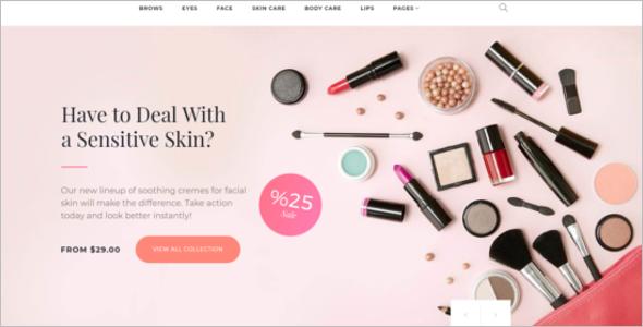 Cosmetics Store Woocommerce Theme