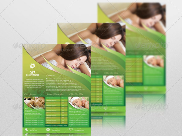 Creative Beauty Salon Flyer Template