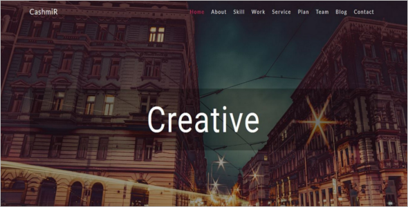Creative Bootstrap Template