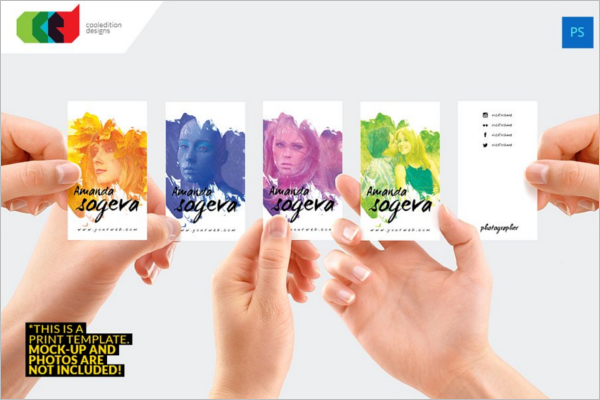 Creative Business Card For Photographer