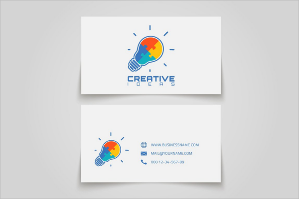 Creative Electric Business Card Template