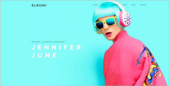 Creative HTML5 Bootstrap Template