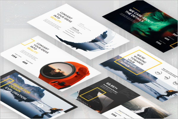 Creative Keynote Design Template