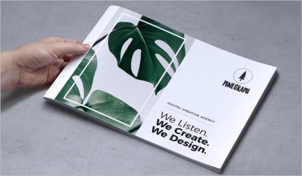 Creative Landscape Brochure Template