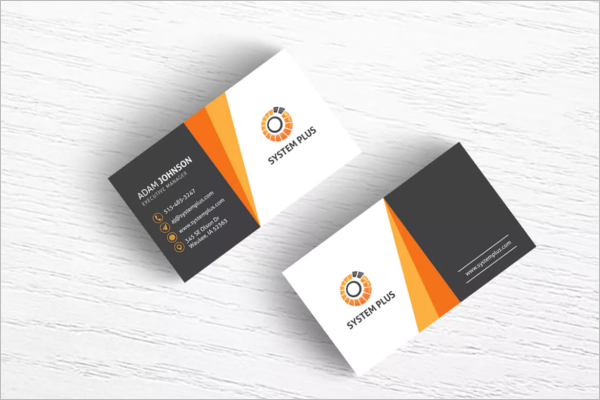 Creative Modern Corporate Business Card Design