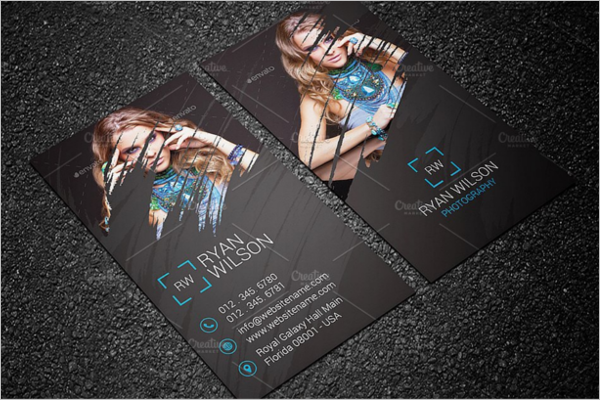 Creative Photography Business Card Design