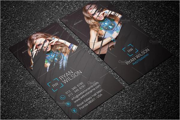 Creative Photography Business Card Design