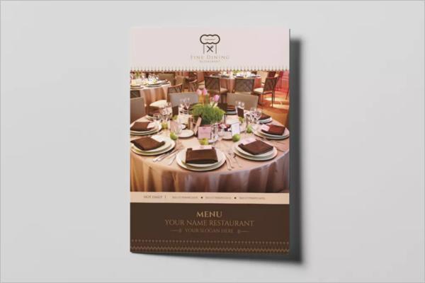 CreativeRestaurant Menu Design