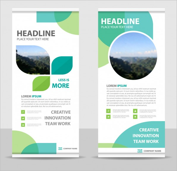 Creative Roll-Up Banner Template
