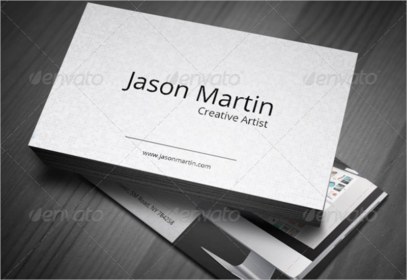 Creative Web Developer Business Card Template