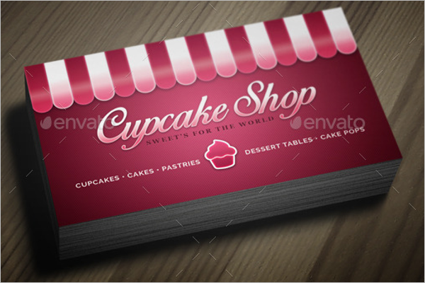 CupCake Bakery Business Card Design