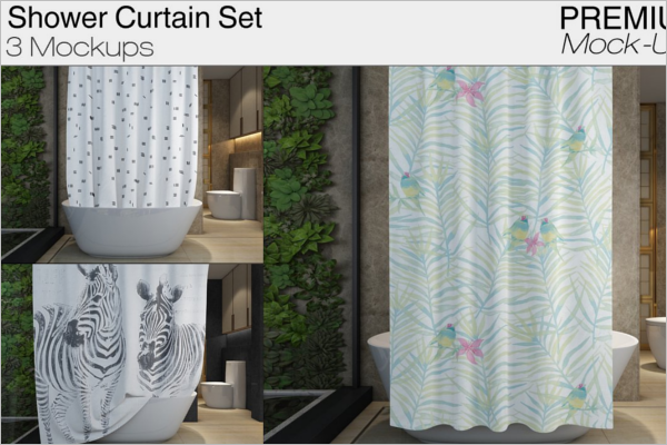 Curtain Mockup Set Design